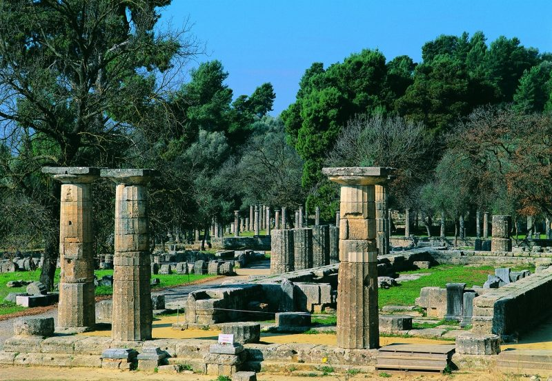 Ancient Olympia Greece