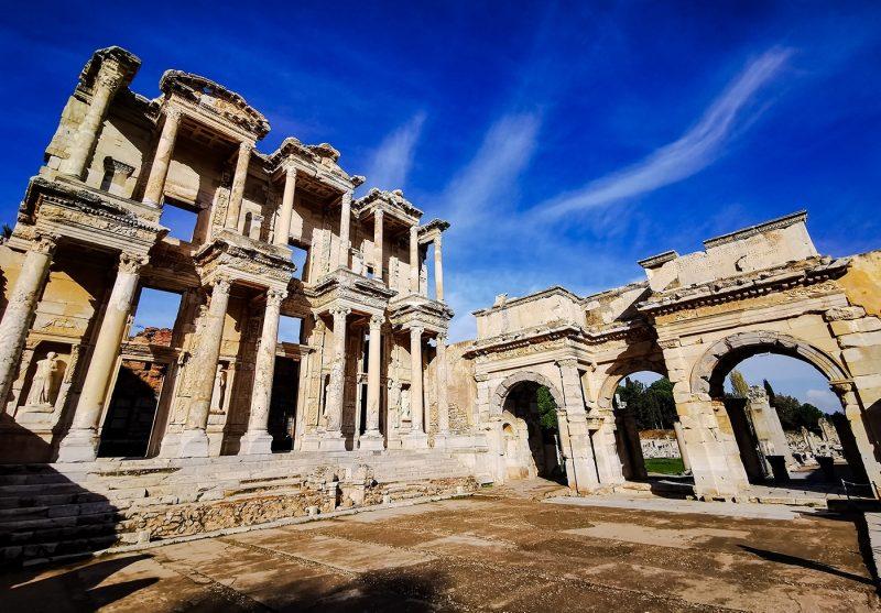 The Ancient Ruins of Ephesus, Turkey
