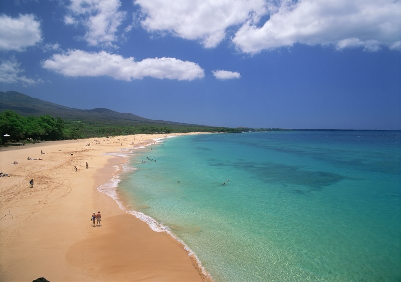 A beach in Maui, Hawaii