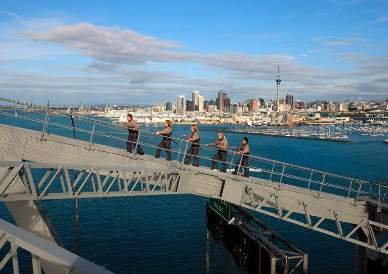 Climbing the Auckland Harbour Bridge