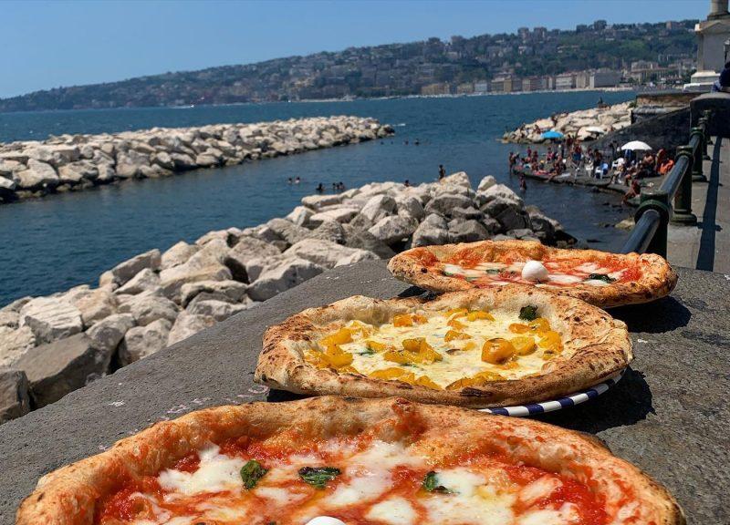 Three Sorbillo pizzas