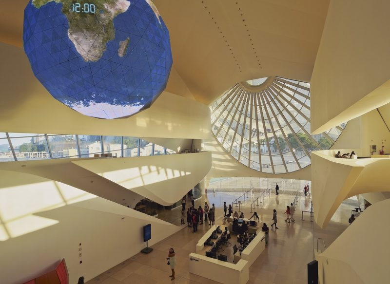 Interior of the Museum of Tomorrow