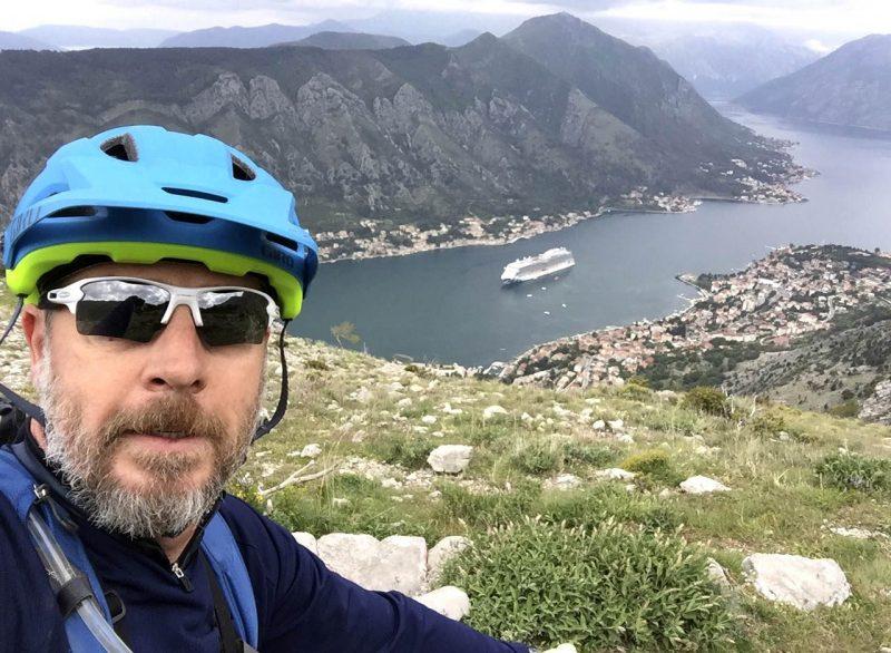 Martyn Moss in Kotor