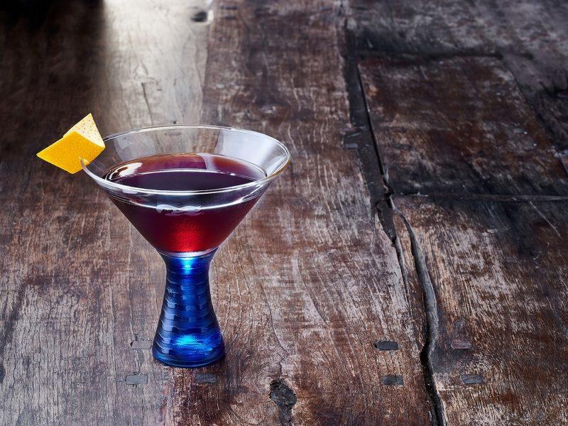 Amaretto Manhattan Cocktail