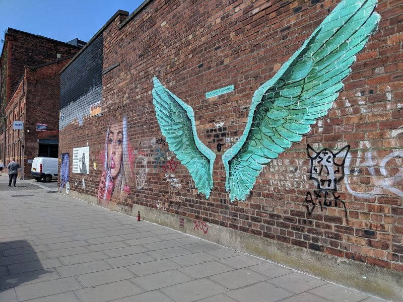 Baltic Triangle street art