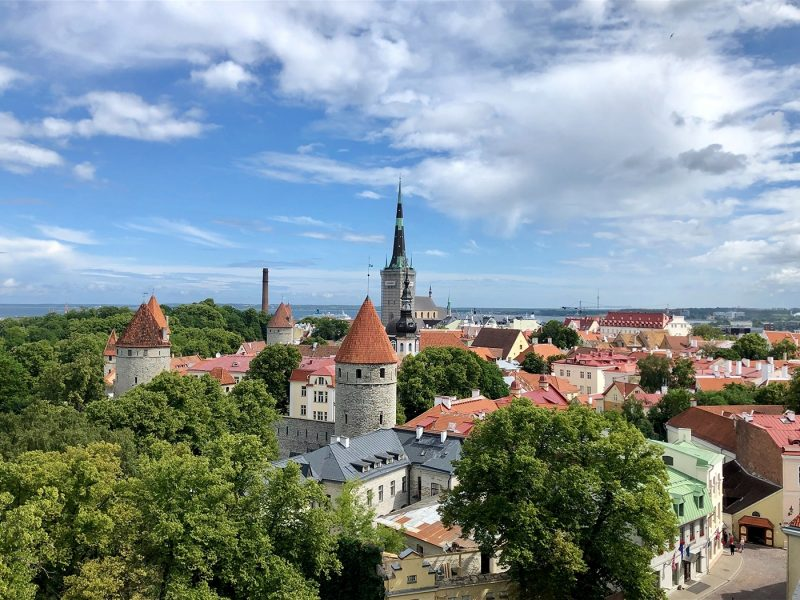 Skyline of Tallinn
