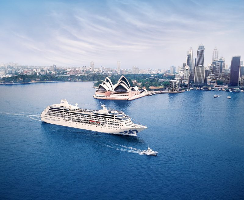 Princess Ship in Sydney Harbour