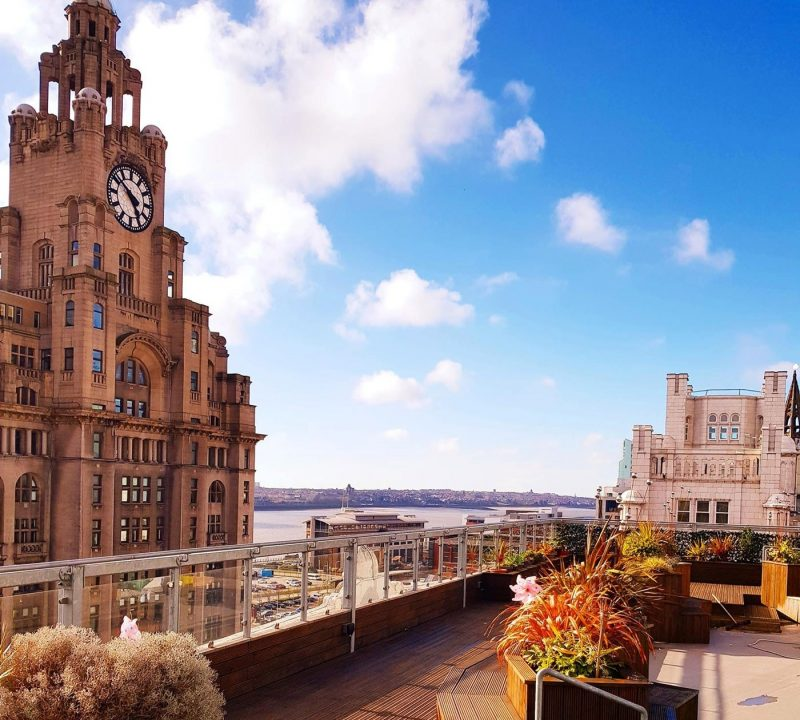 A view from the rooftop over Liverpool from Oh Me Oh My