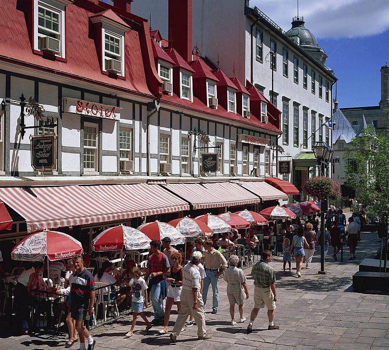 Place d Armes in Quebec City