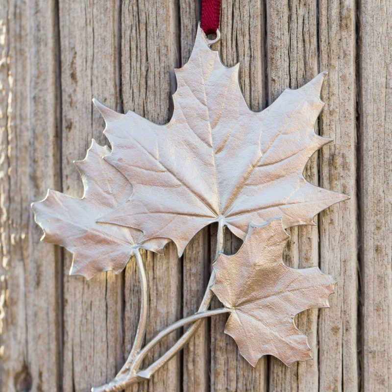 Amos Maple Leaf made of pewter