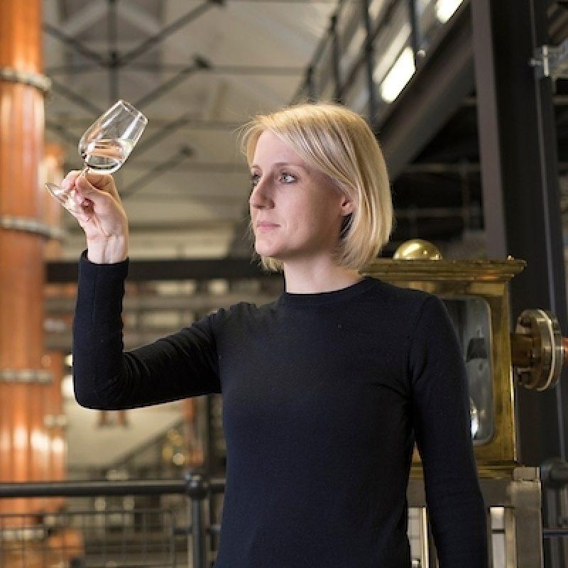 Master distiller, Anne Brock