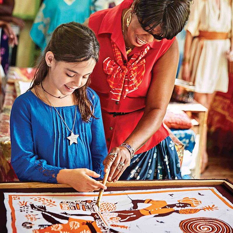 Caribbean Art Instruction