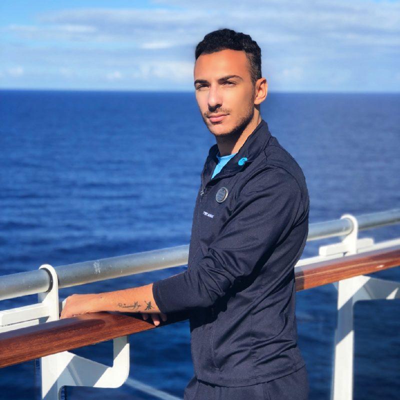 Crew member Lorenzo
