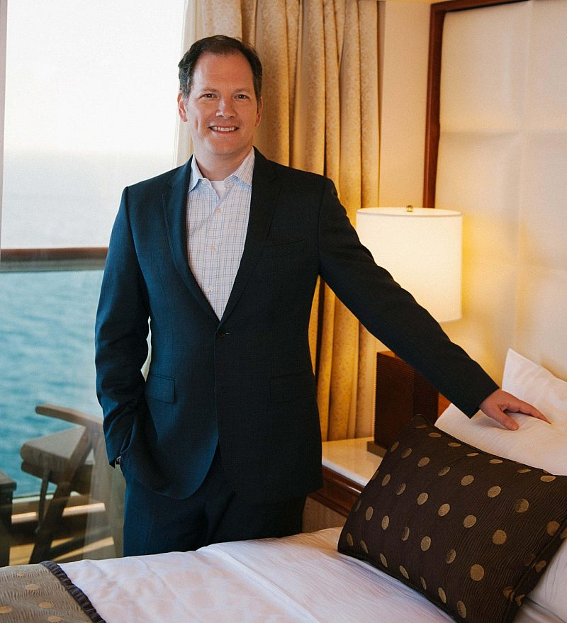 Dr Michael Breus with Luxury Bed