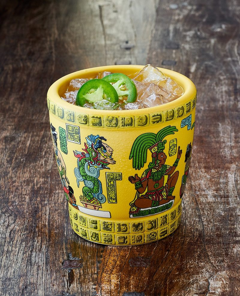 Mayan Heat cocktail