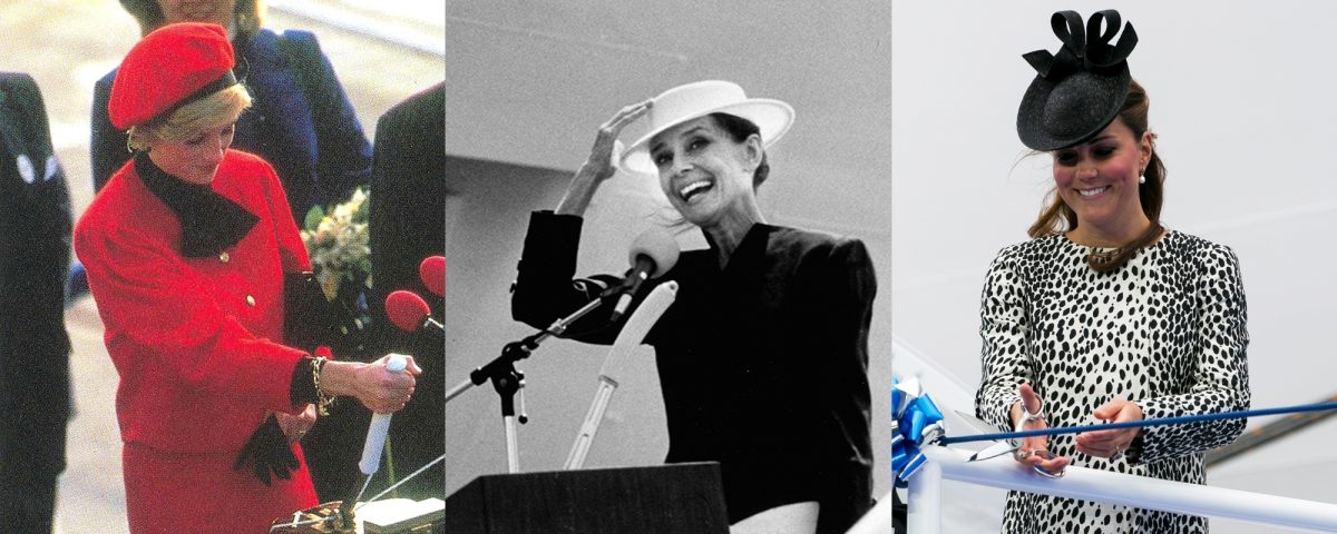 Diana, Princess of Wales, Audrey Hepburn and Kate Middleton