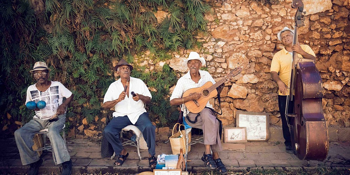 Musicians in the Caribbean
