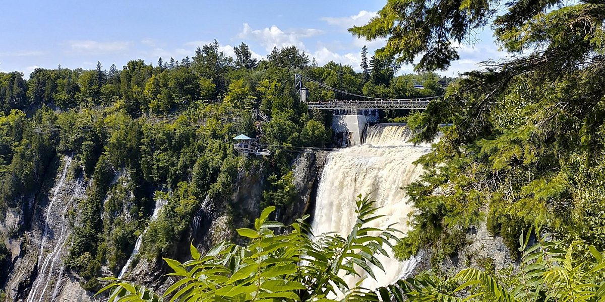 Montmorency Falls near Quebec City, Canada