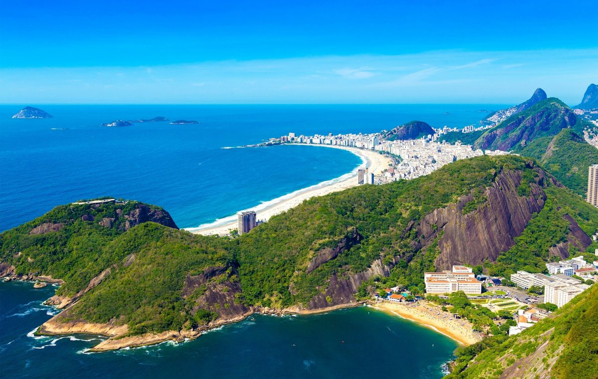 Aerial view of Rio