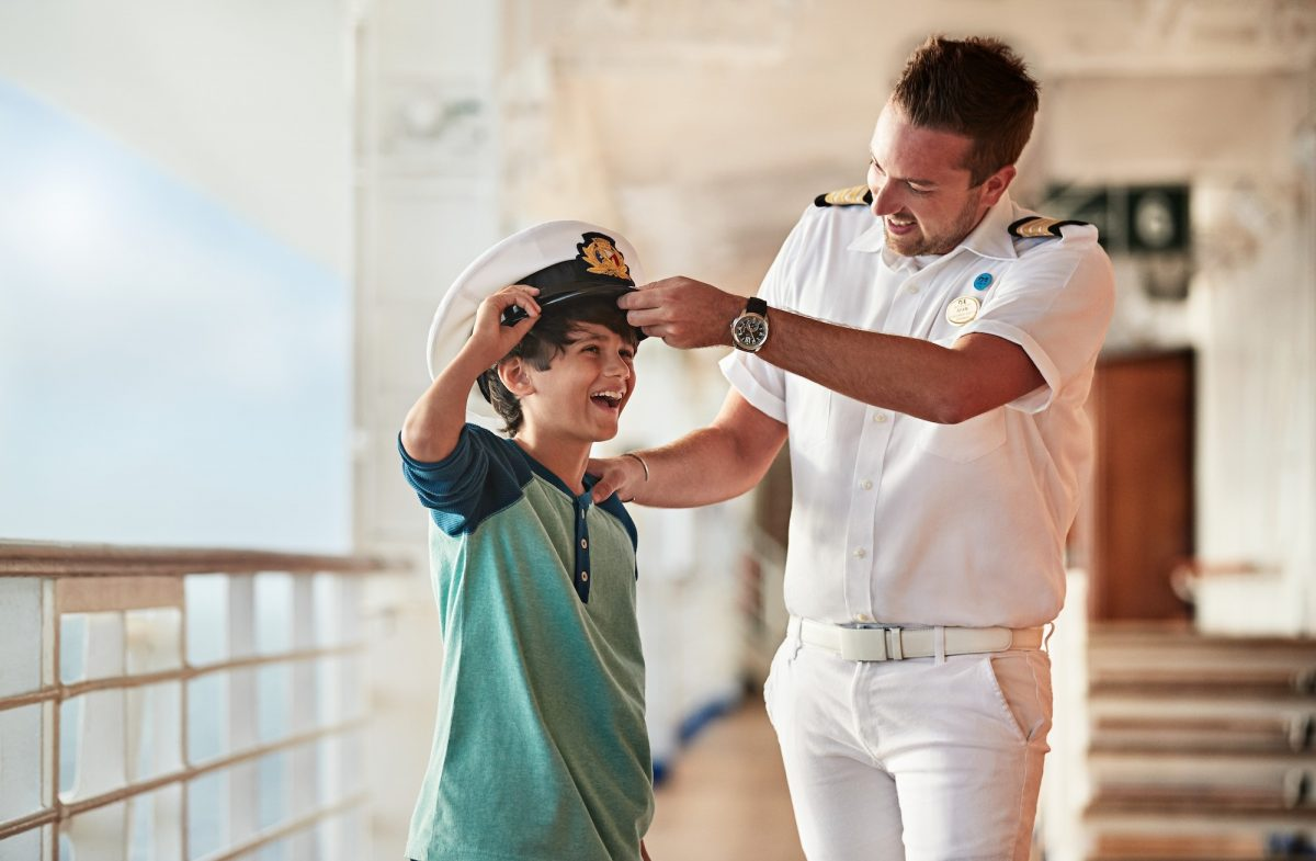 Princess Officer With Child