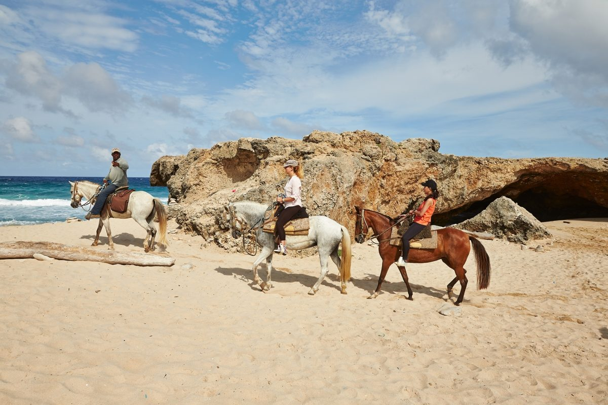 Horse riding in Aruba