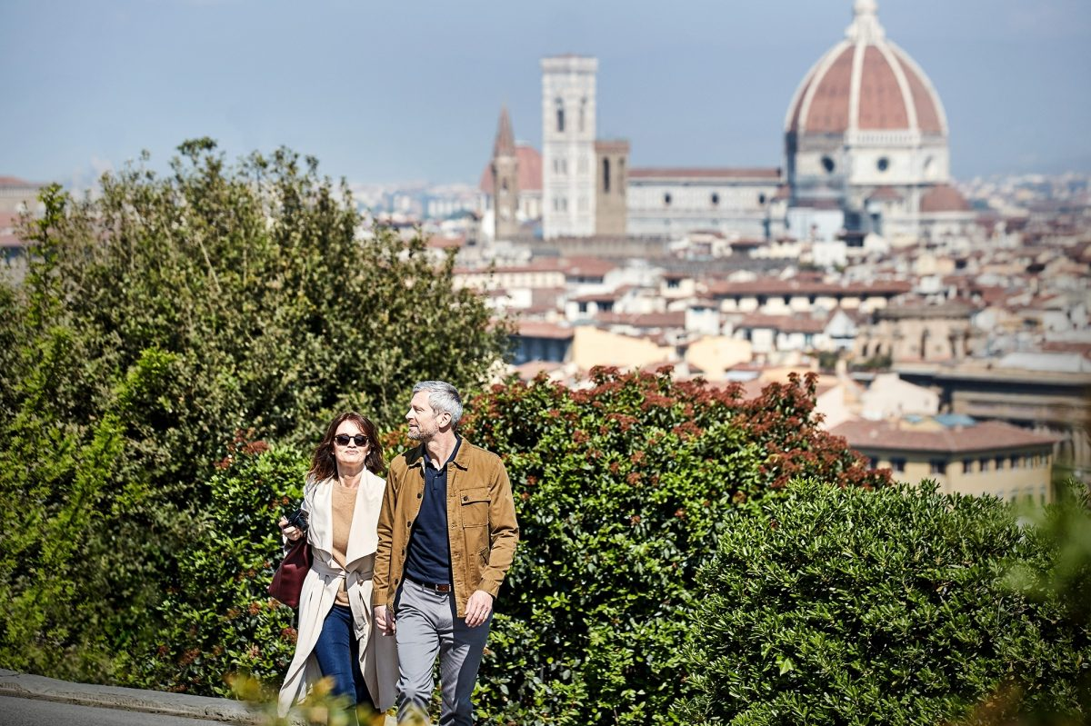 Italy Florence Couple Hero
