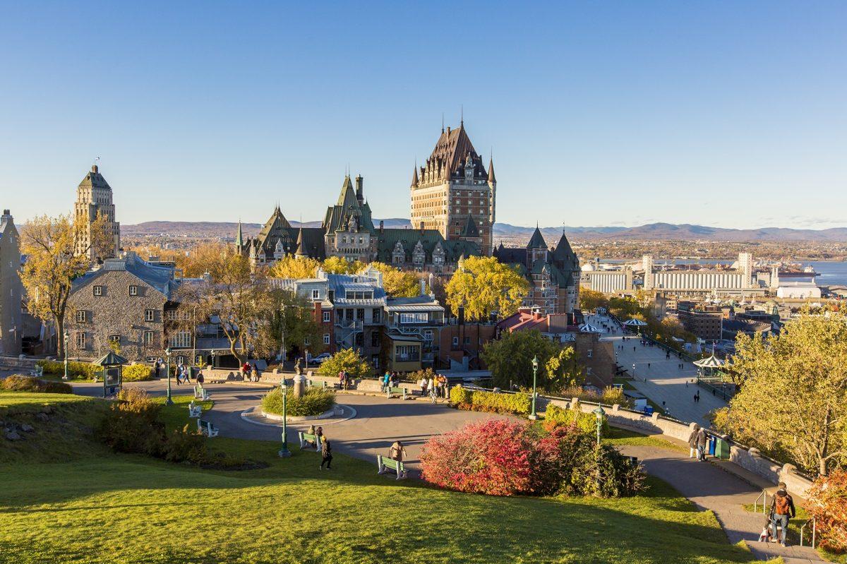 Quebec Frontenac Castle