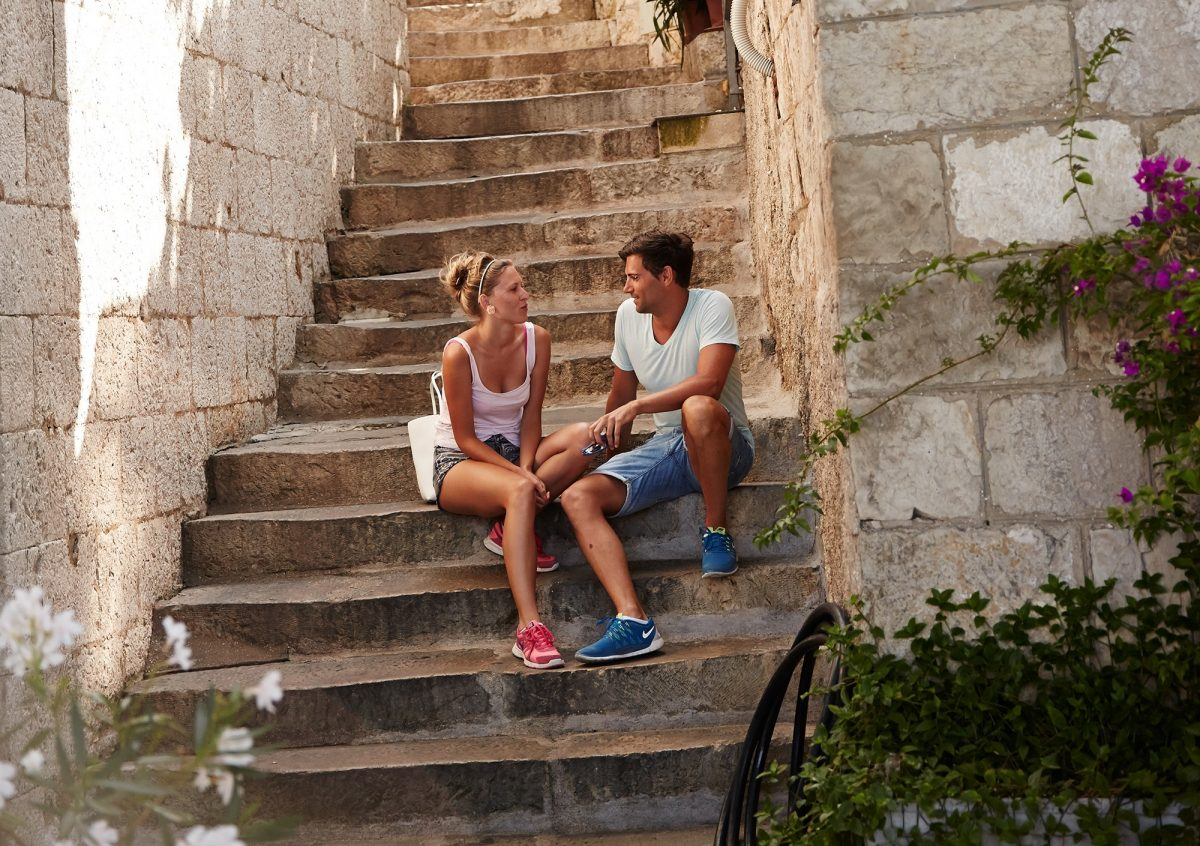 Romantic Couple Dubrovnik