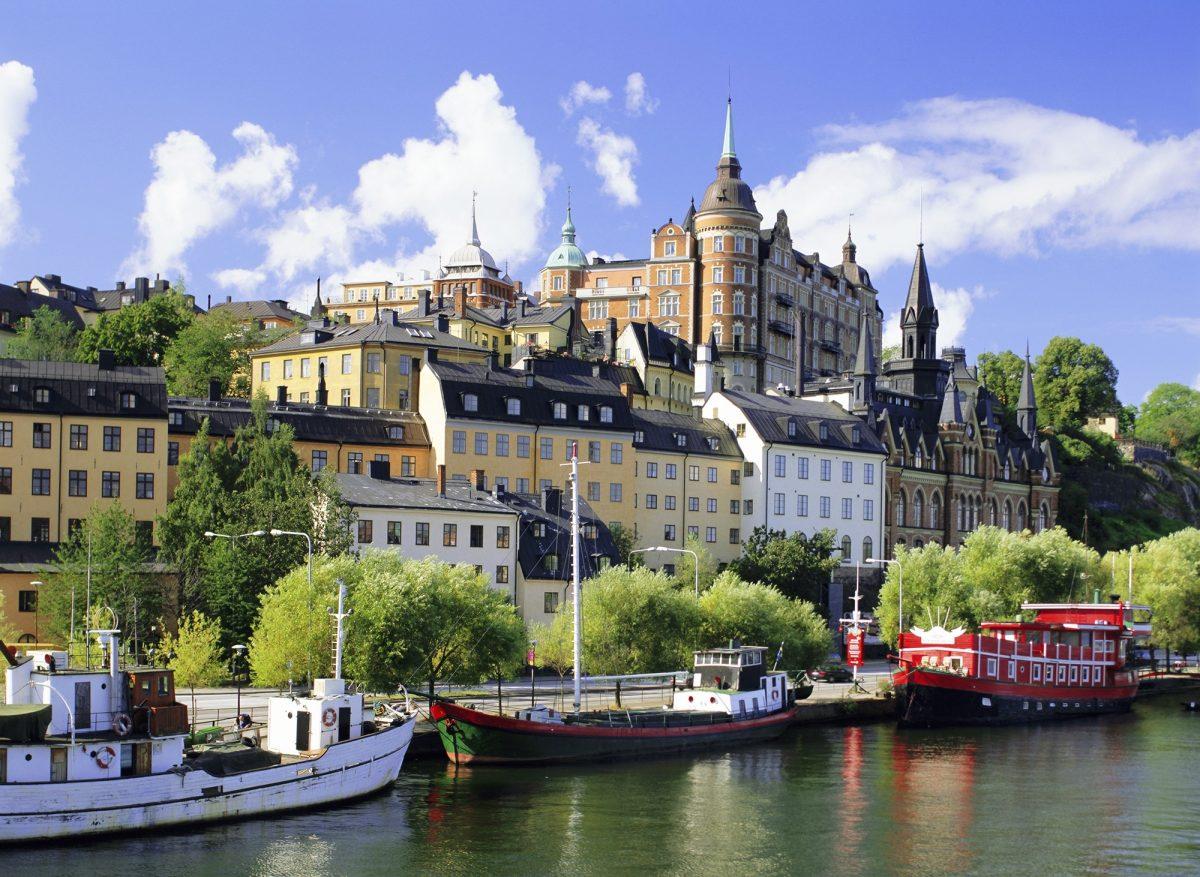 Sodemalm Waterfront, Stockholm, Sweden, Scandinavia