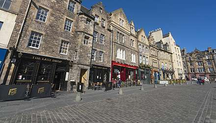 The Gassmarket, Old Town, Edinburgh