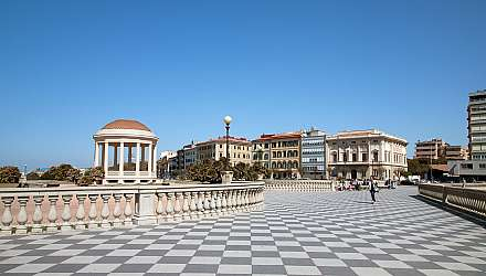 Mascagni Terrace (Terrazza Mascagni), Livorno