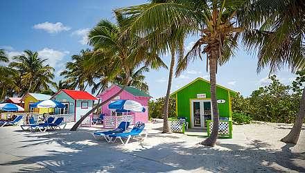 Princess Cays cabanas