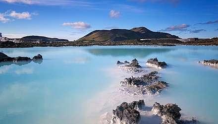 Reykjavik Iceland lagoon